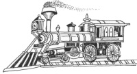 Railroad engine