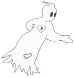 Patches, the friendly ghost